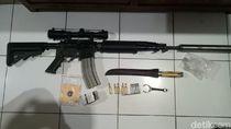 Sepucuk Senjata Laras Panjang M16 Disita dari 3 Warga Banyuwangi