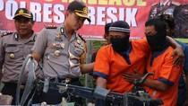 Polisi Ringkus Pelaku Curanmor, 2 Kali Beraksi di Gresik