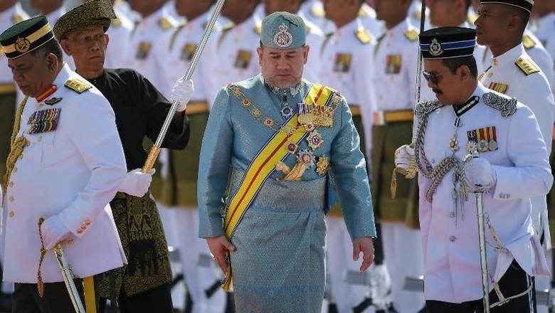Potret Yang di-Pertuan Agong yang Diisukan Akan Nikahi Putri Anwar