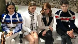 Sehun EXO Bertemu Emma Stone di LV Cruise, Fans Baper