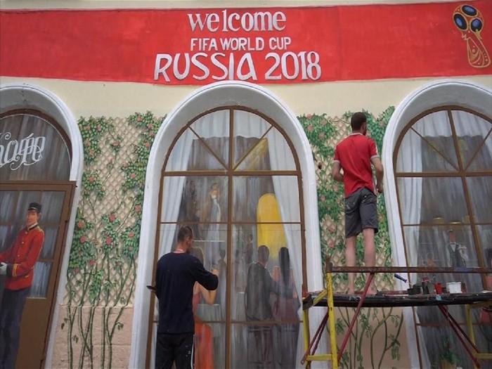 Buat kamu yang ingin nonton Piala Dunia 2018 langsung di Rusia, WHO telah menyarankan untuk vaksin campak.  Foto: Reuters