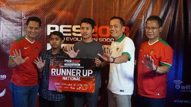 Juara kedua PES 2018.