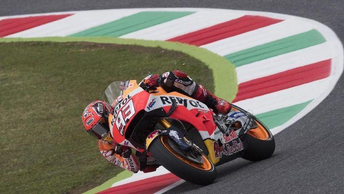 Marc Marquez masih memimpin klasemen sementara MotoGP 2018 usai balapan di Italia. (Foto: Mirco Lazzari gp/Getty Images)