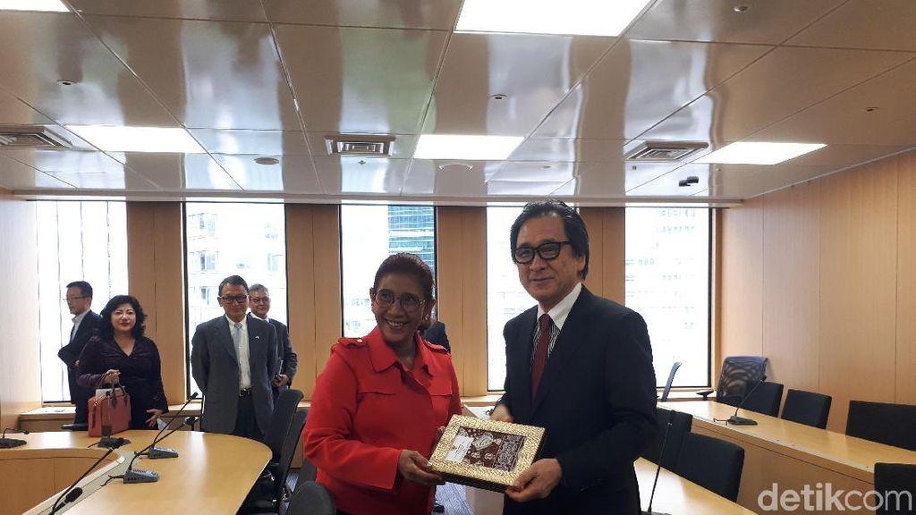 Tawarkan Investasi Perikanan, Susi Dipuji Pengusaha Jepang