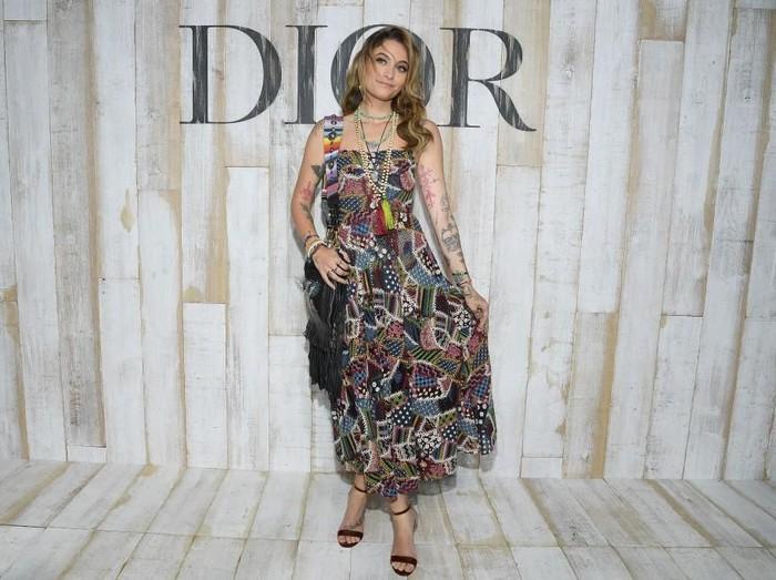 Paris Jackson di Fashion Show Dior. Foto: Dok. Getty Images