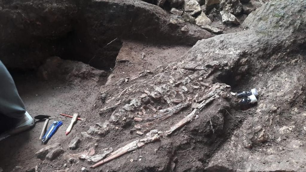 Selain Kerangka, Ditemukan Cap Tangan Berusia 36 Ribu Tahun
