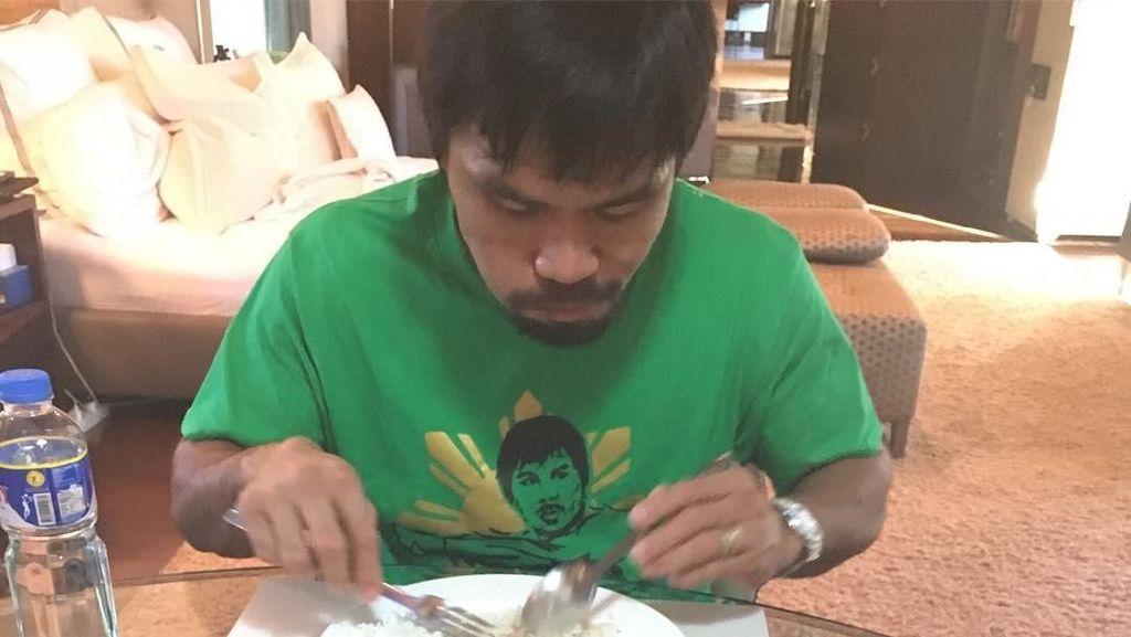 Hobi Makan Manny Pacquiao hingga Anak yang Kirim Kue ke Surga