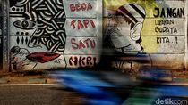 Mural di Marunda Ini Sarat Pesan Sosial