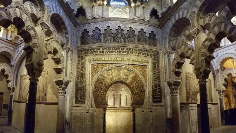 Seputar Masjid Cordoba di Spanyol yang Megah Foto: (Instagram)