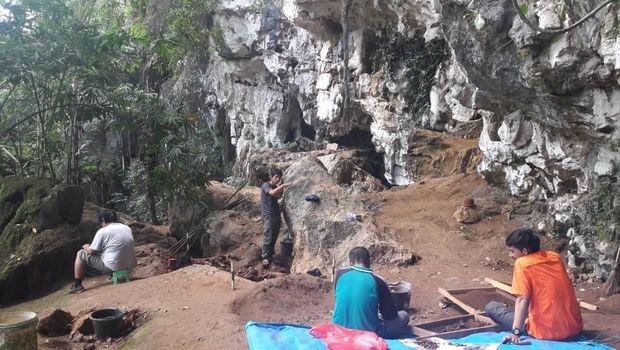 Kerangka Manusia Prasejarah Usia 4 Ribu Tahun Ditemukan di Sulsel
