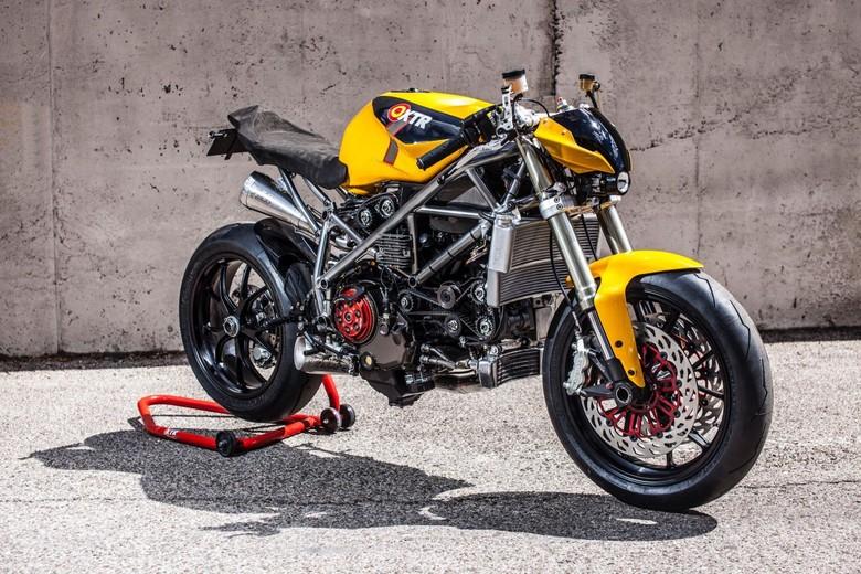 Ducati 848 Telanjang Ini Keren Tidak? Foto: Pool (Visordown)