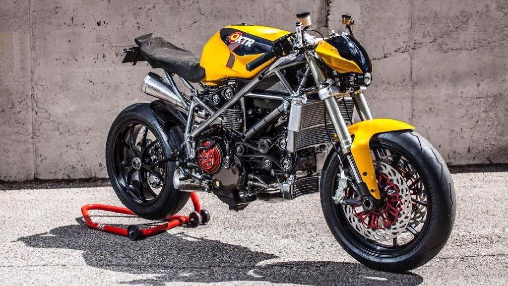 Ducati 848 Telanjang Ini Keren Tidak?