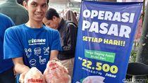 Pemkot Bandung Mulai Jual Ayam Beku Rp 22,5 Ribu per Ekor