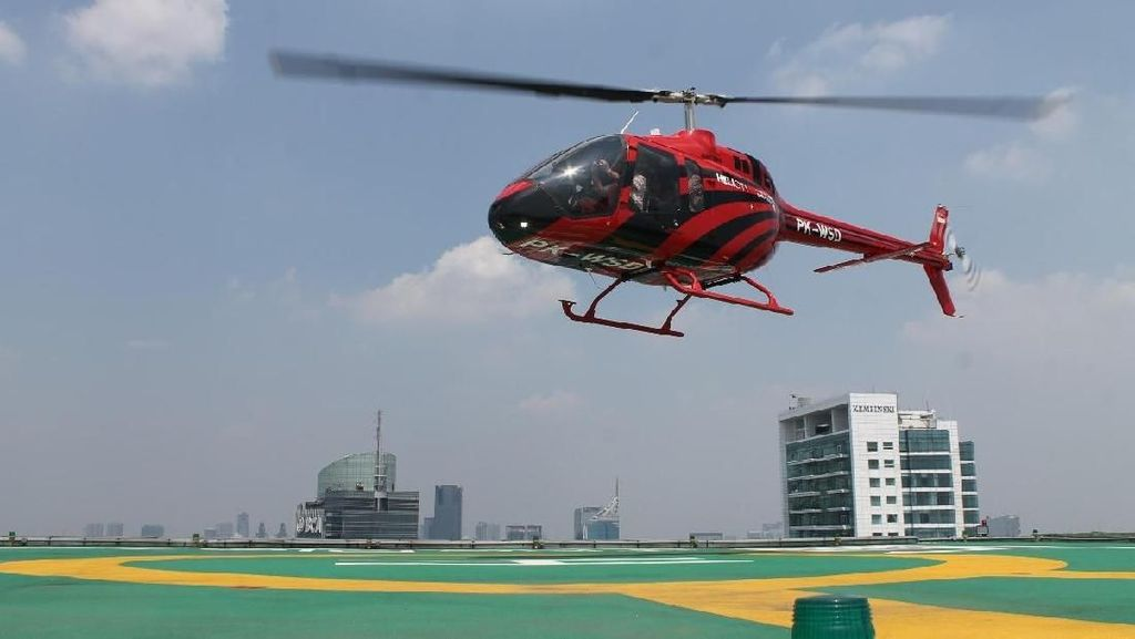 Pengusaha hingga Artis Doyan Berpergian Naik Helikopter