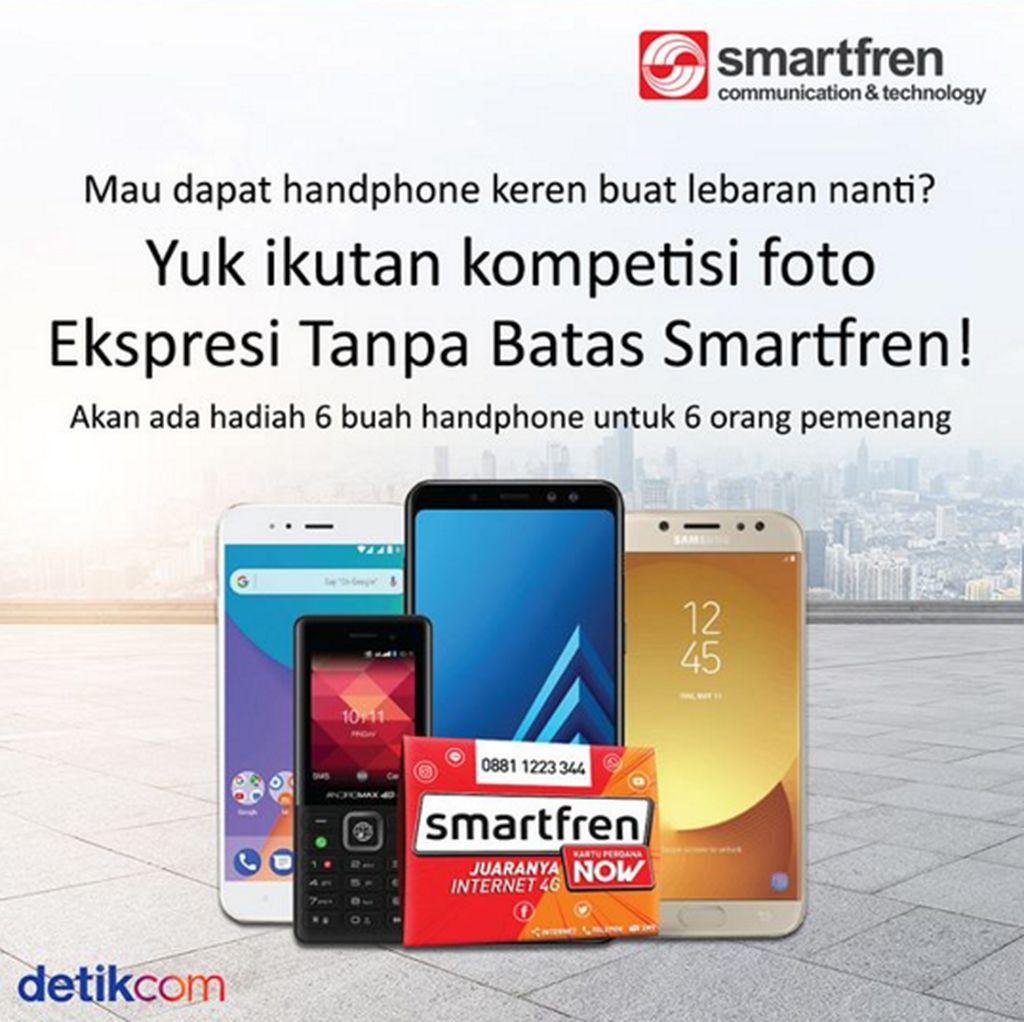 Ikuti Kontes Foto Smartfren Berhadiah Smartphone Keren