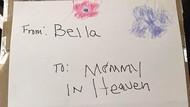 Bikin Haru, Kisah Balita Kirim Kue Ultah untuk Mendiang Ibunya