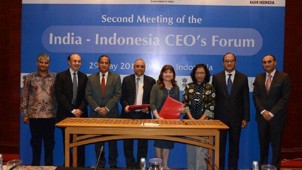 RI-India Fokus Tingkatkan Kerja Sama Bisnis di 4 Sektor