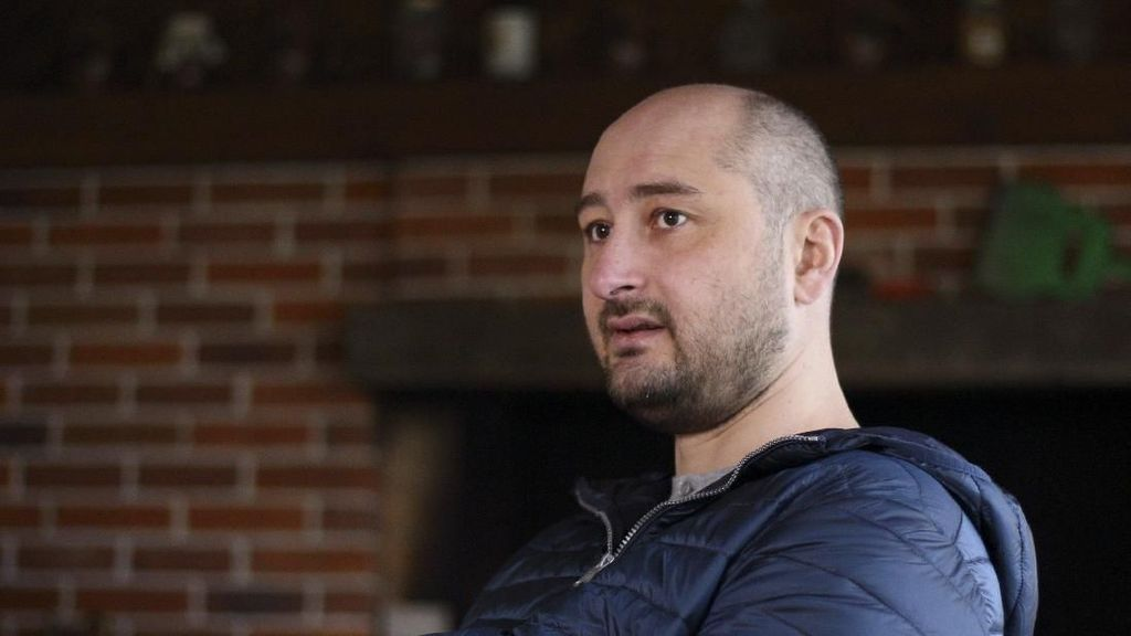 Foto: Babchenko, Jurnalis Pengkritik Putin yang Tewas Ditembak
