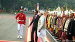 Momen Jokowi Sambut Hangat PM India di Istana