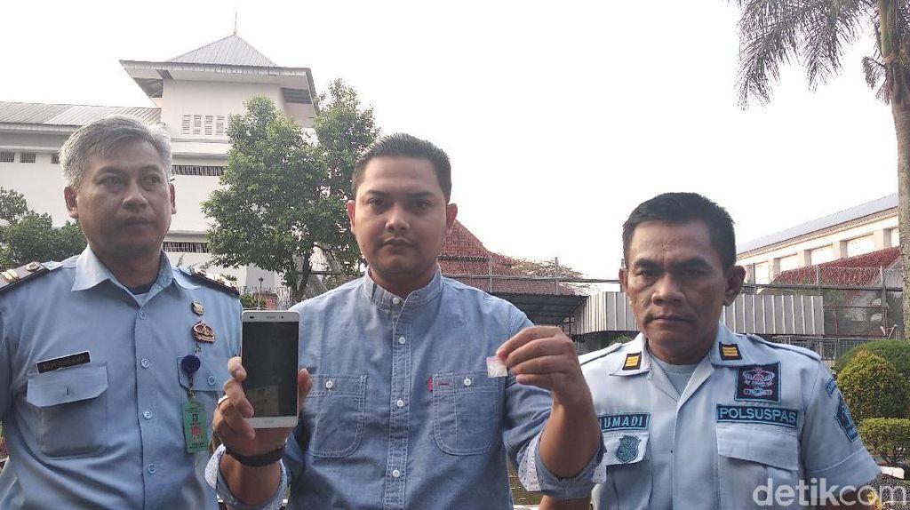 Napi Rutan Kebonwaru Bandung Tepergok Kantongi Sabu-sabu