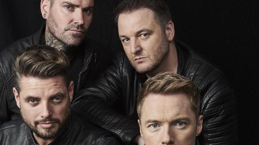 Boyzone: Indonesia Selalu Jadi Negara yang Penting Buat Kami