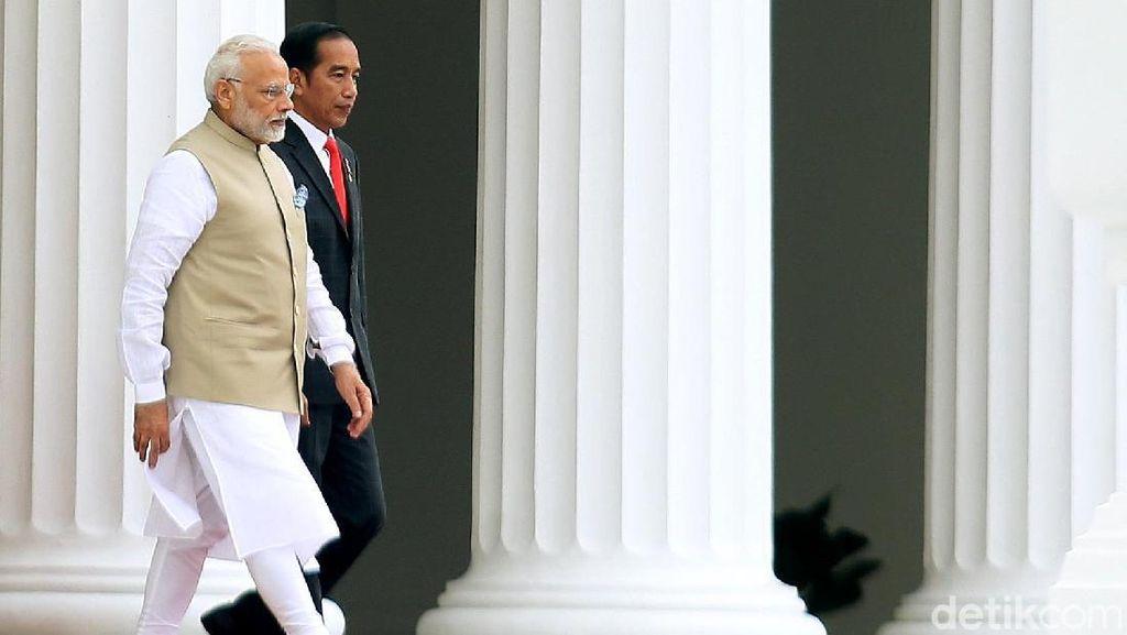 Pakai Bahasa Indonesia, PM India Selamati Jokowi Atas Kemenangan Pilpres