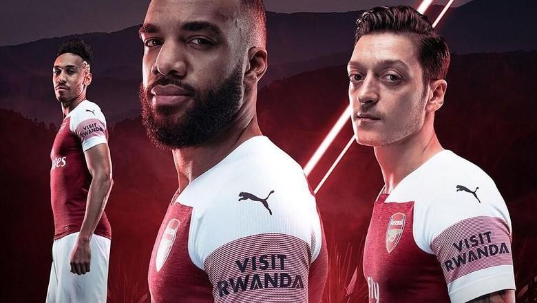 Visit Rwanda di jersey baru Arsenal (arsenal/Instagram)