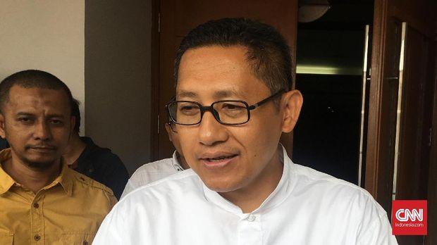 Terpidana korupsi Hambalang Anas Urbaningrum, di Pengadilan Tipikor Jakarta, Kamis (31/5).
