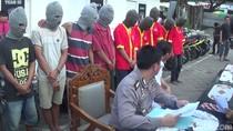 Polisi Bekuk Sindikat Besar Curanmor di Makassar