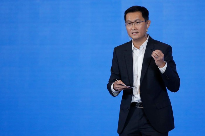 Ma Huateng sang pendiri Tencent. Foto: Getty Images