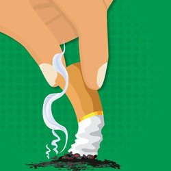 Infografis: 5 Langkah Mudah untuk Berhenti Merokok