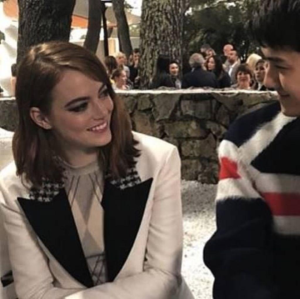 Sehun EXO Dijodohkan dengan Emma Stone, Setuju?