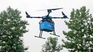 Perusahaan China Jajal Antar Makanan Pakai Drone