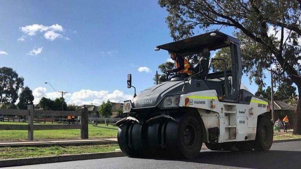 Bangun Jalan dari Sampah Daur Ulang di Melbourne