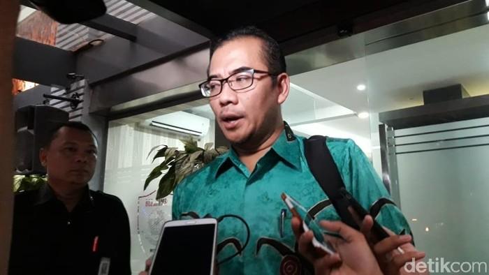 Komisioner KPU Hasyim Asyari (Kanavino Ahmad Rizqo/detikcom)