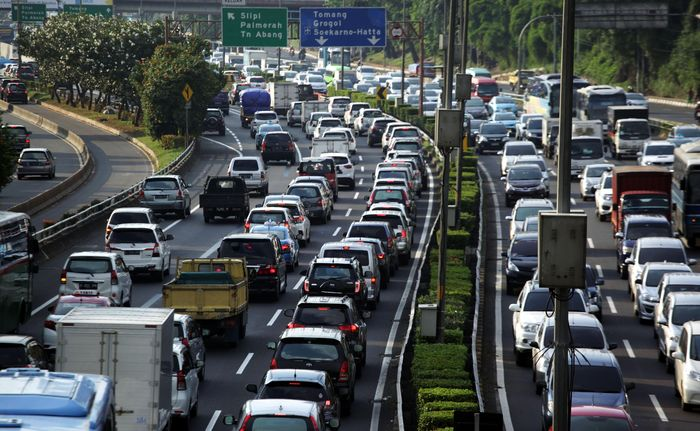 Tol Cawang-Tomang-Pluit. Lamhot Aritonang/detikcom.