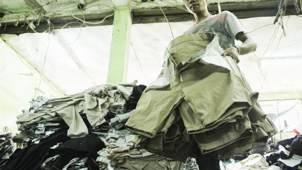 Berkah Ramadan, Penjahit Garmen Banjir Pesanan