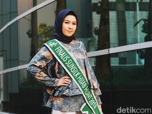 Raih Juara 3 Sunsilk Hijab Hunt 2018, Maya Shafira Ingin Perjuangkan Lenong