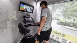 Melihat adanya kebutuhan untuk berolahraga menjaga gaya hidup sehat di masyarakat modern, satu perusahaan di China memunculkan ide pusat kebugaran mini.