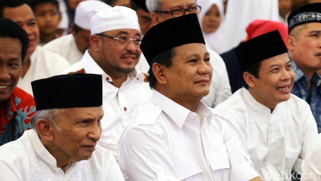 Prabowo-Amien Umrah dan Temui Habib Rizieq, Golkar: Semoga RI Adem