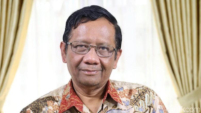 Mahfud Tolak Masuk Timses Jokowi, PPP: Masih Bisa Berubah Pikiran