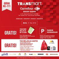 Promo Spesial Pembukaan Transmart Carrefour Yasmin Bogor