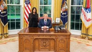 Kim Kardashian Temui Donald Trump, Bahas Apa?