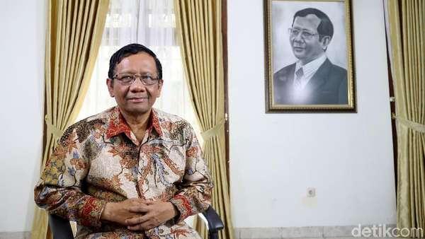 Disebut Masuk Kandidat Cawapres Jokowi, Mahfud MD: Alhamdulillah