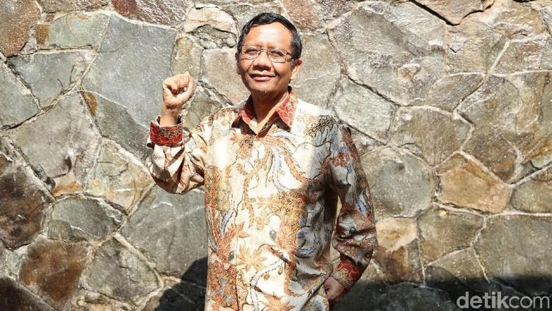Mahfud Md yang Legawa Batal Jadi Cawapres Jokowi