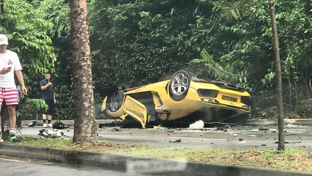 Kecelakaan Nahas, Lamborghini sampai MINI Ringsek