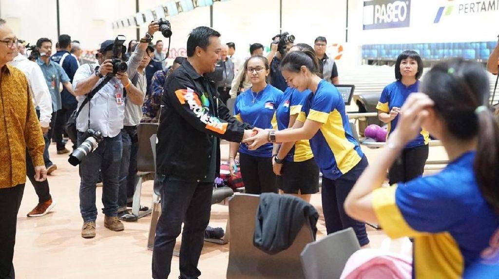 Di Palembang, Menpora Sebut Bowling Ditarget Dua Emas Asian Games 2018