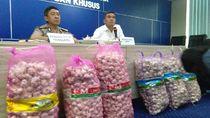 Polri Ungkap Impor Ilegal 300 Ton Bawang Putih dari China dan Taiwan