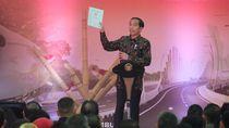 Bagikan Sertifikat di Bogor, Jokowi Singgung Fitnah di Tahun Politik