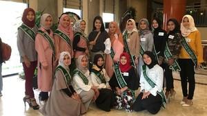 15 Finalis Sunsilk Hijab Hunt 2018 Berlatih Catwalk dan Personal Branding